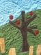 detail of Happy Orchards
