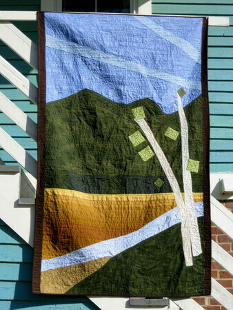 Quilted Curtain II - Sold